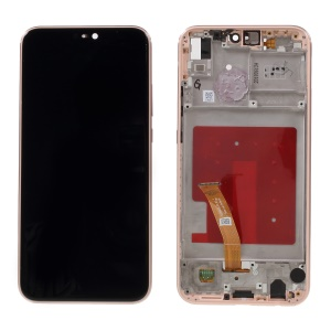 LCD Screen and Digitizer Assembly + Frame Replacement for Huawei P20 Lite / Nova 3e - Pink
