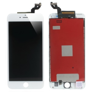 LCD Screen and Digitizer Assembly + Frame Replacement (Made by China Manufacturer, 380-450cd/m2 Brightness) for iPhone 6s Plus - White