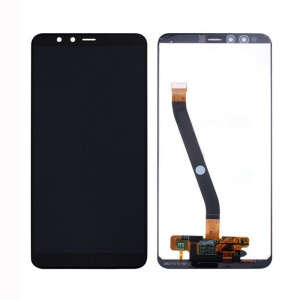 LCD Screen and Digitizer Assembly Replacement for Huawei Honor 7A - Black