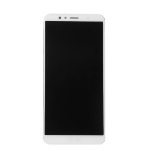 LCD Screen and Digitizer Assembly + Frame Spare Part for Huawei Y6 (2018) / Enjoy 8e - White
