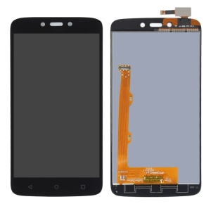 LCD Screen and Digitizer Assembly Part for Motorola Moto C Plus - Black