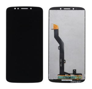 LCD Screen and Digitizer Assembly Replacement for Motorola Moto G6 Play - Black