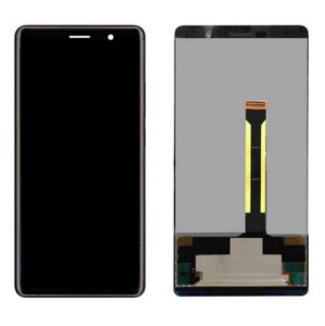 For Nokia 7 plus LCD Screen and Digitizer Assembly (OEM) - Black