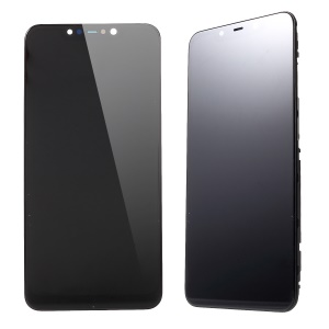 LCD Screen and Digitizer Assembly + Frame for Xiaomi Pocophone F1 / Poco F1 (India) - Black