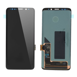 LCD Screen and Digitizer Assembly Part for Samsung Galaxy S9 G960 (Non-OEM Screen Glass Lens, OEM Other Parts) - Black