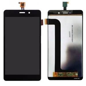 OEM LCD Screen and Digitizer Assembly Replacement for Wiko Pulp Fab 4G - Black