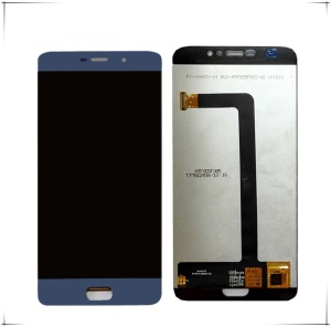 LCD Screen and Digitizer Assembly Replcement for Elephone S7 - Blue