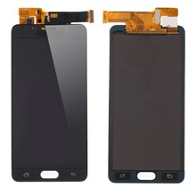 LCD Screen and Digitizer Assembly Part for Samsung Galaxy A5 SM-A510F (2016) with Screen Brightness IC - Black