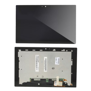LCD Screen and Digitizer Assembly Repair Part for Sony Xperia Tablet Z - Black