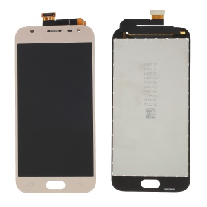 LCD Screen and Digitizer Assembly Replacement with Screen Brightness IC for Samsung Galaxy J3 (2017) J330 - Gold