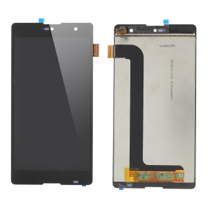 OEM Disassembly LCD Screen and Digitizer Assembly Spare Part for Wiko Robby - Black