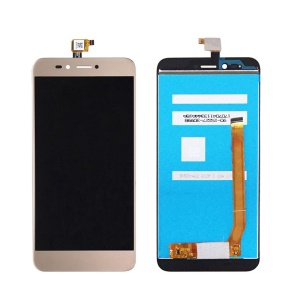 For Wiko Upulse Lite OEM Disassembly LCD Screen and Digitizer Assembly Part - Gold