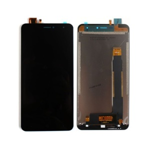 LCD Screen and Digitizer Assembly Repair Part for Doogee X7 / X7 Pro - Black