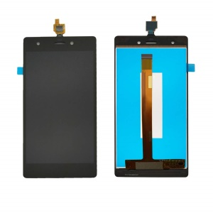 LCD Screen and Digitizer Assembly Part for Wiko Pulp / Pulp 4G - Black