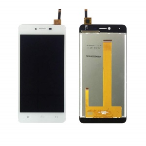 For Wiko Jerry Max LCD Screen and Digitizer Assembly Part - White