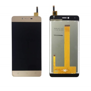 For Wiko Jerry Max LCD Screen and Digitizer Assembly Replacement - Gold