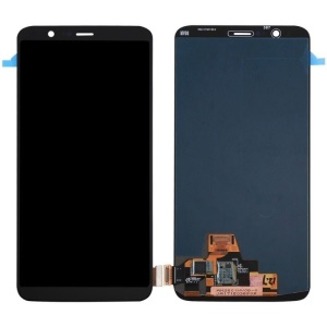 LCD Screen and Digitizer Assembly for OnePlus 5T (OLED Version) - Black