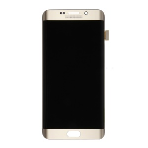 OEM LCD Screen and Digitizer Assembly for Samsung Galaxy S6 Edge Plus G928 - Gold Color