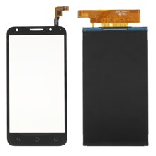 OEM Digitizer Touch Screen Glass + LCD Screen and Digitizer Assembly for Alcatel Pixi 4 (5) 4G 5045 - Black