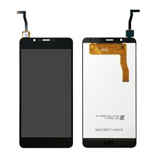OEM LCD Screen and Digitizer Assembly Part for Wiko Tommy 2 Plus - Black