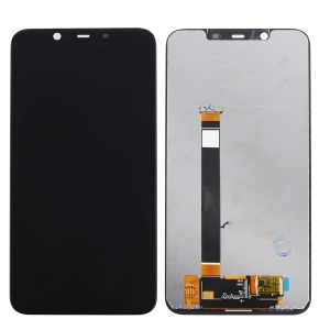 OEM LCD Screen and Digitizer Assembly Repair Part for Nokia 8.1 / X7 - Black
