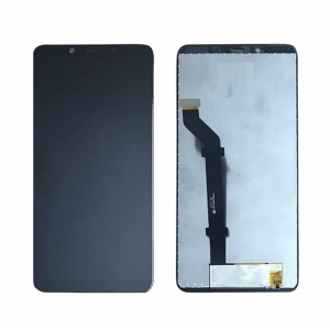 OEM LCD Screen and Digitizer Assembly for Nokia 3.1 Plus - Black
