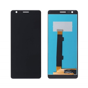 OEM LCD Screen and Digitizer Assembly Replacement for Nokia 3.1 - Black