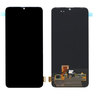 OEM LCD Screen and Digitizer Assembly Replacement for OnePlus 6T - Black