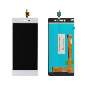 LCD Screen and Digitizer Assembly Spare Part for Wiko Fever 4G / Fever SE - White