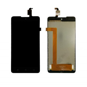 LCD Screen and Digitizer Assembly Part for Wiko Rainbow Lite 4G - Black