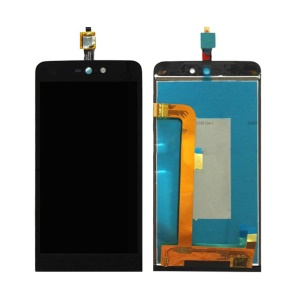 LCD Screen and Digitizer Assembly Part for Wiko Rainbow Jam 4G - Black