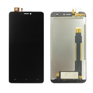OEM LCD Screen and Digitizer Assembly Repair Part for Cubot Max - Black