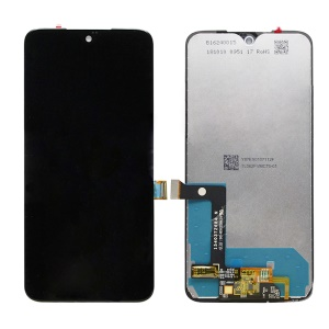 OEM LCD Screen and Digitizer Assembly Repair Part for Moto G7 - Black