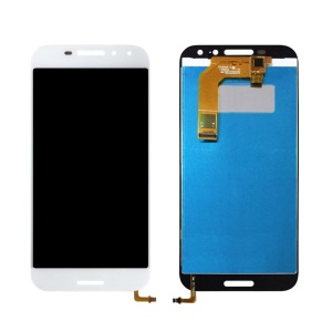 OEM LCD Screen and Digitizer Assembly Repair Part for Vodafone Smart N8 LTE VFD-610 - White