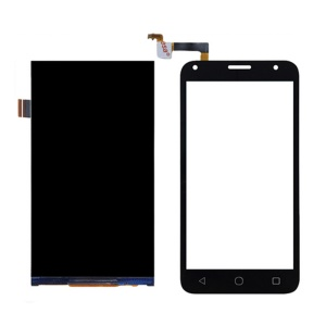 OEM Digitizer Touch Screen + LCD Screen Display Part for Alcatel Pixi 4 (5) 4G - Black