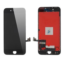 High Quality LCD Screen and Digitizer Assembly with Frame for iPhone 8 (Made by China Manufacturer, 380-450cd/? Brightness) - Black