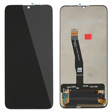 OEM LCD Screen and Digitizer Assembly Part for Huawei P Smart (2019) - Black
