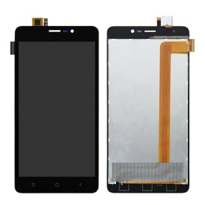 OEM LCD Screen and Digitizer Assembly Repair Part for BlackView A8 Max - Black