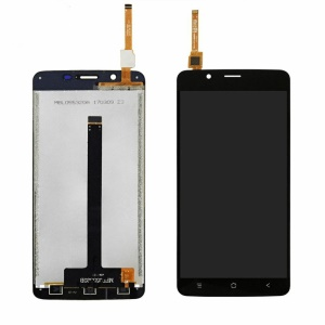OEM LCD Screen and Digitizer Assembly Spare Part for BlackView P2/P2 Lite - Black