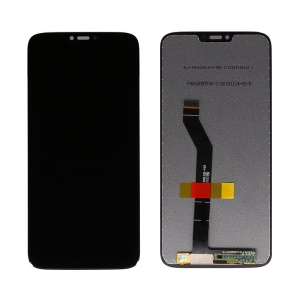 OEM LCD Screen and Digitizer Assembly Repair Part for Motorola Moto G7 Power 6.2 inch - Black