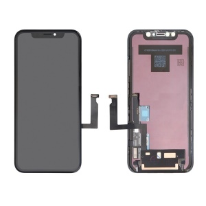LCD Screen and Digitizer Assembly Replace Part for iPhone XR 6.1 inch - Black