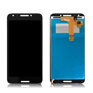 LCD Screen and Digitizer Assembly Repair Part for Alcatel A30 Feroz Plus 5049 - Black