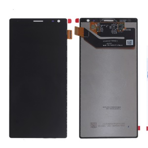 OEM LCD Screen and Digitizer Assembly Replace Part for Sony Xperia 10 Plus I3213 / I4213 / I4293 / I3223 - Black