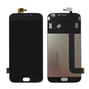 LCD Screen and Digitizer Assembly Spare Part for Doogee X9 Pro - Black