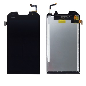 LCD Screen and Digitizer Assembly Replacement for Doogee S30 - Black