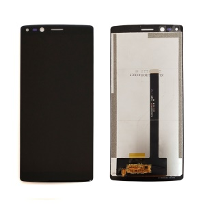 LCD Screen and Digitizer Assembly Part Replacement for Doogee Mix 2 - Black