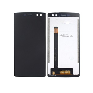 LCD Screen and Digitizer Assembly Repair Part for Doogee BL12000/BL12000 Pro - Black