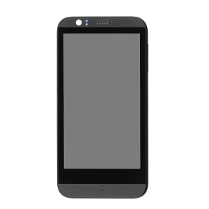 LCD Screen and Digitizer Assembly with Front Housing for HTC Desire 510 - Black