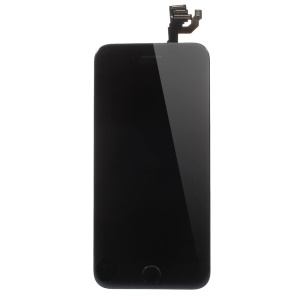 For iPhone 6 4.7 LCD Screen and Digitizer Assembly Part with Small Parts (Made by China Manufacturer, Century Tech Glass) - Black