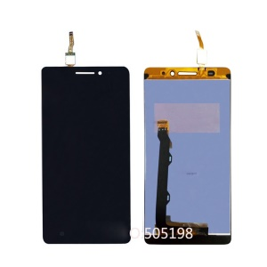 OEM LCD Screen and Digitizer Assembly for Lenovo A7000 - Black